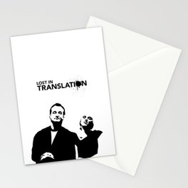 Lost In Translation - Alternative Movie Poster Stationery Cards
