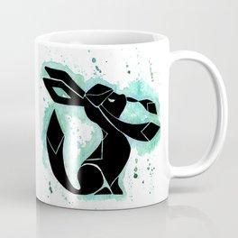 Glaceon Splash Silhouette Coffee Mug