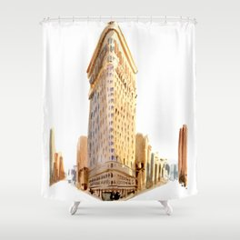 Flatiron III Shower Curtain