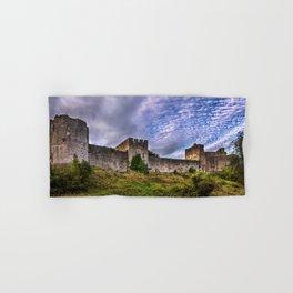 Chepstow Castle Walls Hand & Bath Towel
