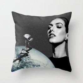 Diamond in the Sky Throw Pillow