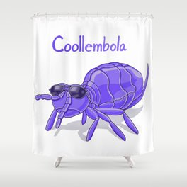 Coollembola Shower Curtain