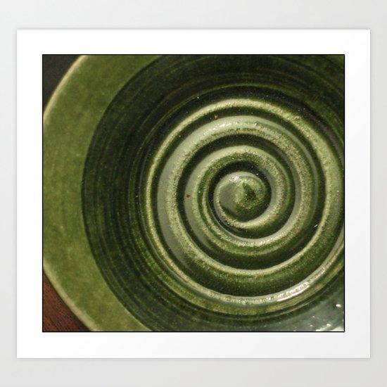 Plate Art Print