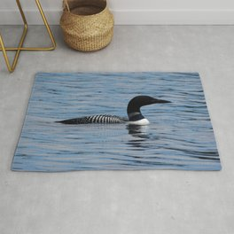 Common Loon Rug