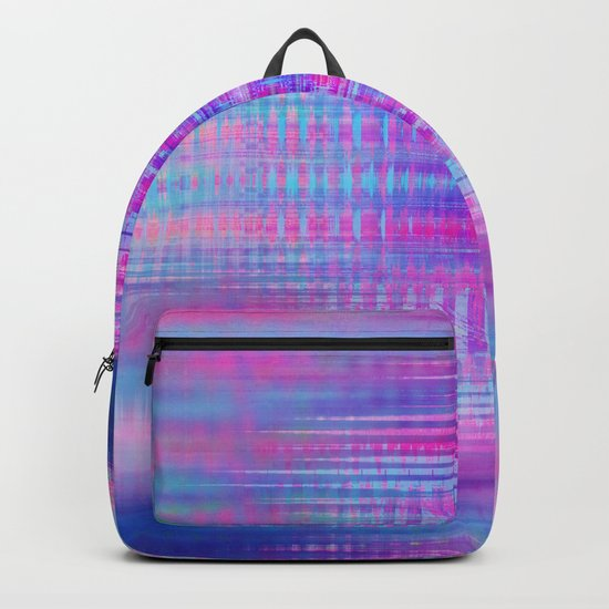 Distorted signal 02 Backpack
