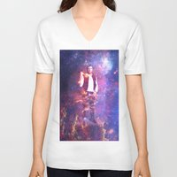 han solo V-neck T-shirts featuring Han Solo by MaNia Creations
