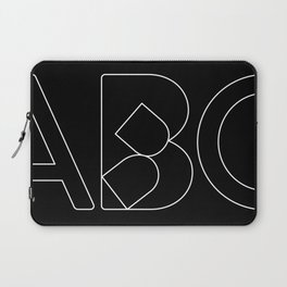 Collapsed Laptop Sleeve