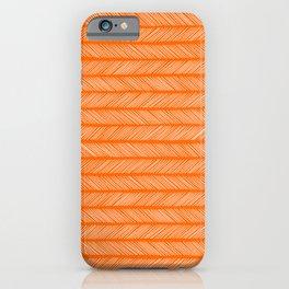 Marmalade Small Herringbone iPhone Case