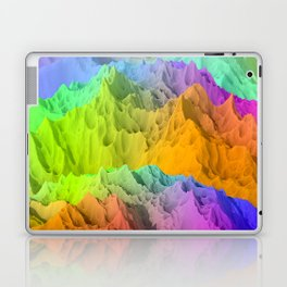 Holopunk Mountains Laptop & iPad Skin