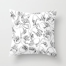 The SENSUALIST Collection (Tact) Throw Pillow