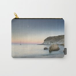 """""""SuperMoon in Plomo Beach"""" Carry-All Pouch"""