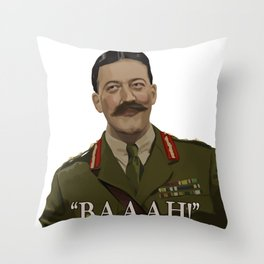 """Baaah!"" Throw Pillow"