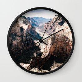 Zion Canyon National Park Wall Clock