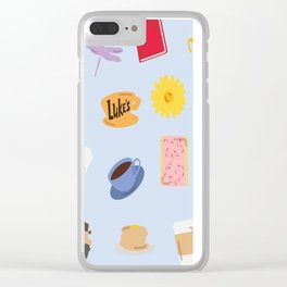 Gilmore Girls World Clear iPhone Case