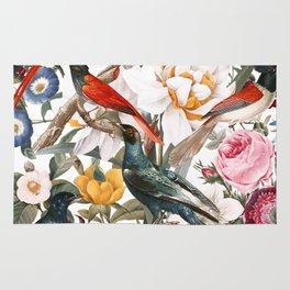 Floral and Birds XXXV Rug