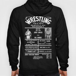 #6-B Memphis Wrestling Window Card Hoody
