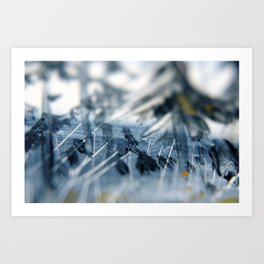 Painting nature Art Print