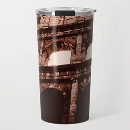 Ancient Colosseum, Rome Travel Mug