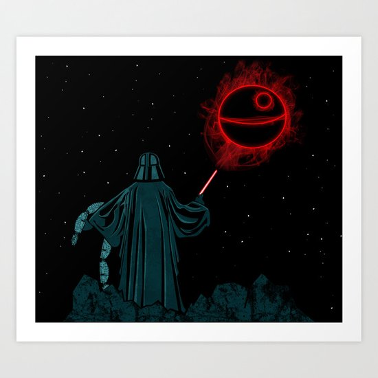 The Darth Lord Art Print