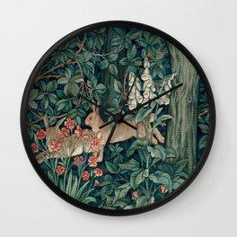 "John Henry Dearle ""Greenery"" 4. Wall Clock"