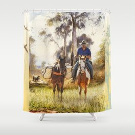 The Stockman Shower Curtain