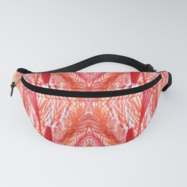 Vintage Rose Woven Abstract Fanny Pack