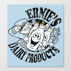 Ernies ghostly gold tops Canvas Print