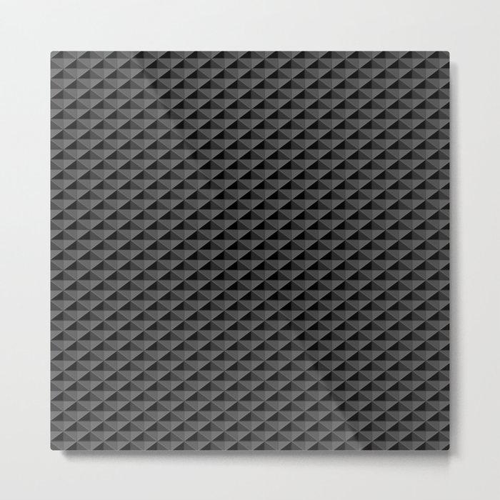 Dark Diamond Tech Metal Print
