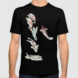 Koi Fish Watercolour T-shirt