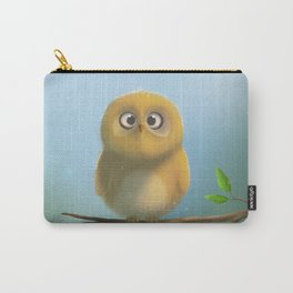 Little owl is looking at you :D Carry-All Pouch