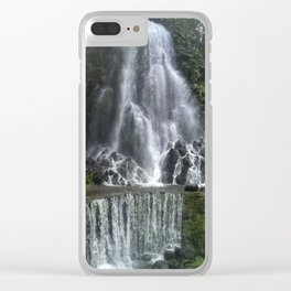Waterfall | São Miguel Island, Azores Clear iPhone Case