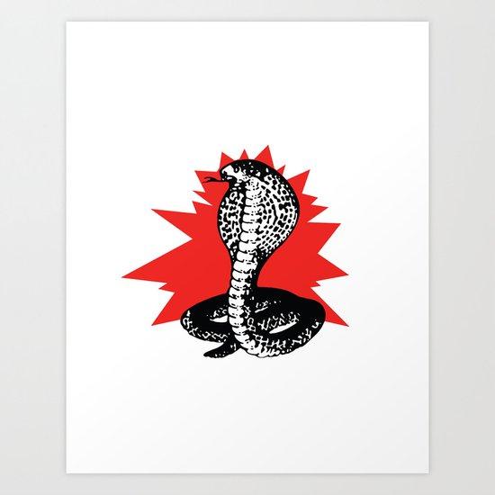 SNAKE 2 Art Print