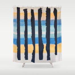 Horizons-1.1 Shower Curtain
