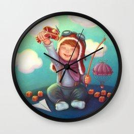 Little aviator Wall Clock