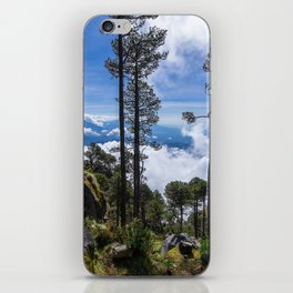 Volcano Tacana Descent iPhone Skin