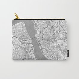 Liverpool Map Line Carry-All Pouch