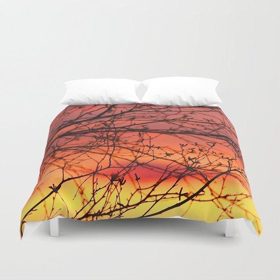 Spring Sunset Duvet Cover