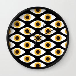 EYES_POP_ART_01 Wall Clock