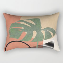Nature Geometry I Rectangular Pillow