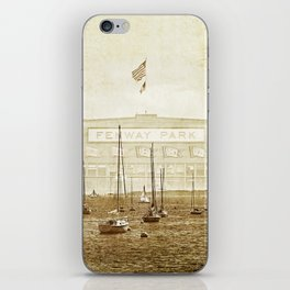fenway on the harbor iPhone Skin
