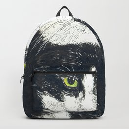 Tuxedo cat Backpack