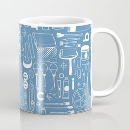 BIENNALE_COMBO_BLEU_OFF_WHITE Coffee Mug