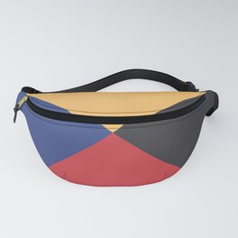 Primary Colors Triangles Fanny Pack