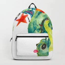 New Year's cat Backpack