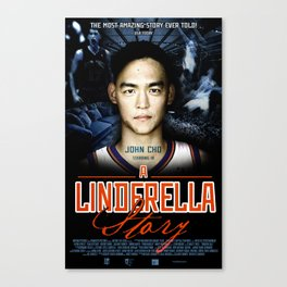 A Jeremy Lin Inspired Poster Canvas Print
