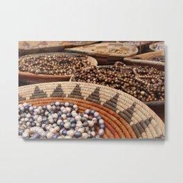Santa Fe Beads Metal Print
