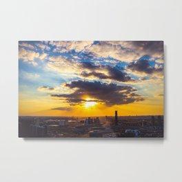 Cloud Gazing Metal Print