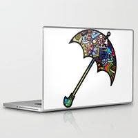 mary poppins Laptop & iPad Skins featuring Mary Poppins by Ilse S