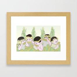 Children Of The Corn Framed Art Print