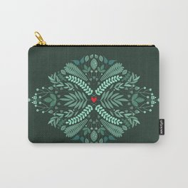 Minty Spring Carry-All Pouch